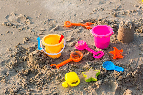 beach toys, games and other essentials
