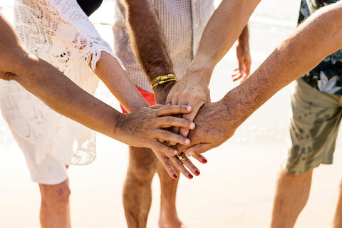 team building activities at the beach