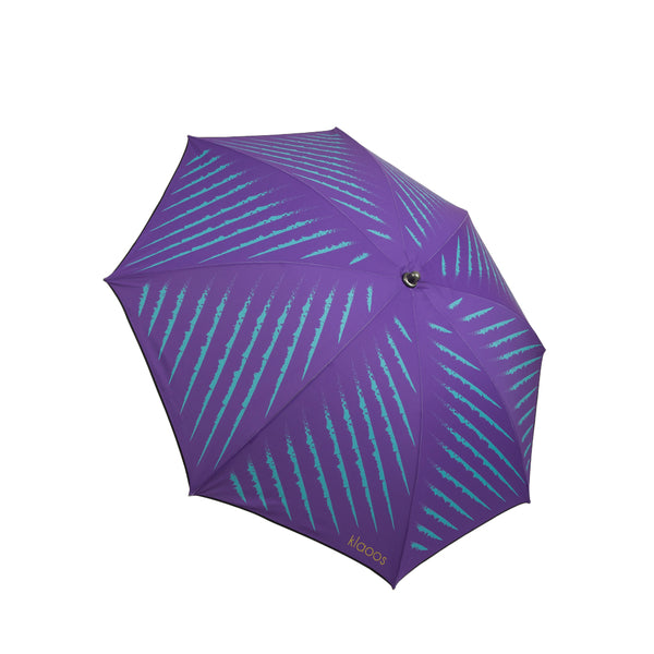 Klaoos - Premium French Beach Umbrella - Le Captivant - Violet - Boatshed 7 The Original Beach Co.