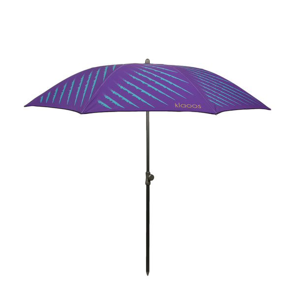 Klaoos - Premium French Beach Umbrella - Le Captivant - Violet
