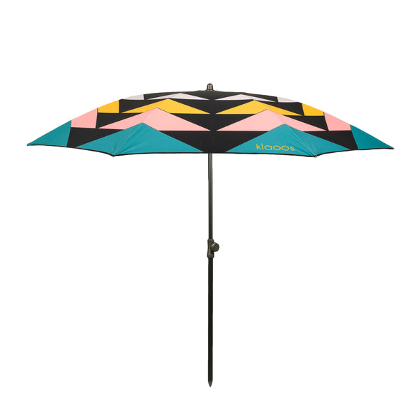 Klaoos - Premium French Beach Umbrella - Tumultueux - Pastel - Boatshed 7 The Original Beach Co.