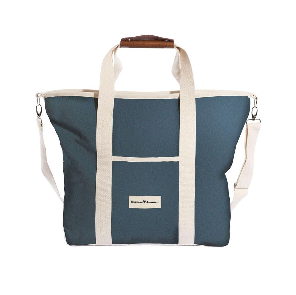 Business & Pleasure - Premium Tote Bag- Cooler - Atlantic Blue