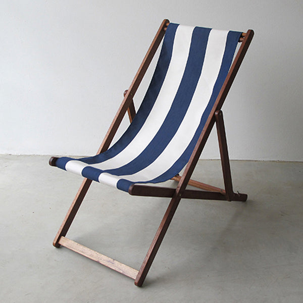 ici et la' - Premium Sling Chair - Navy Stripe
