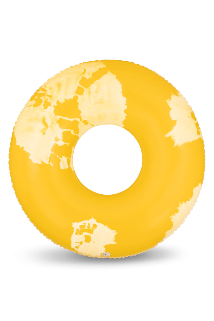 the nice fleet XL Premium adult swim ring -GOA - yellow - Boatshed 7 The Original Beach Co.