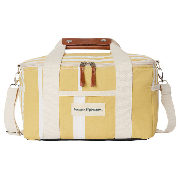 Business & Pleasure - Premium Cooler - Vintage Yellow - Boatshed 7 The Original Beach Co.
