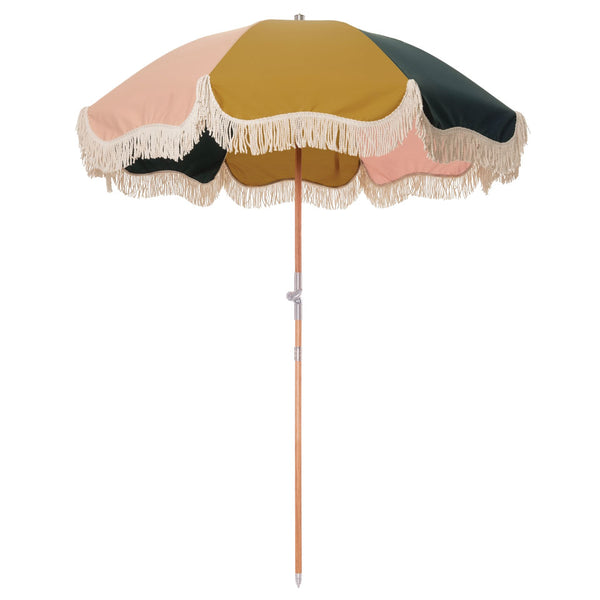 Business & Pleasure - Premium Beach Umbrella - Panel Cinque - Boatshed 7 The Original Beach Co.