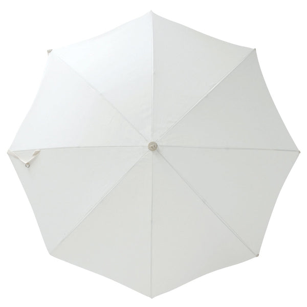 Business & Pleasure - Premium Beach Umbrella - Antique White - Boatshed 7 The Original Beach Co.