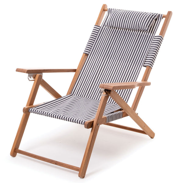 Business & Pleasure - Tommy Chair - Lauren's Navy - Boatshed 7 The Original Beach Co.