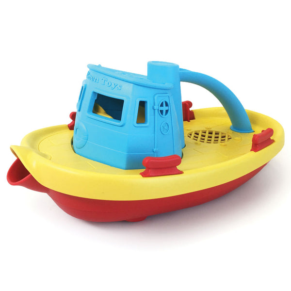 Green Toys - Tug Boat - blue - Boatshed 7 The Original Beach Co.