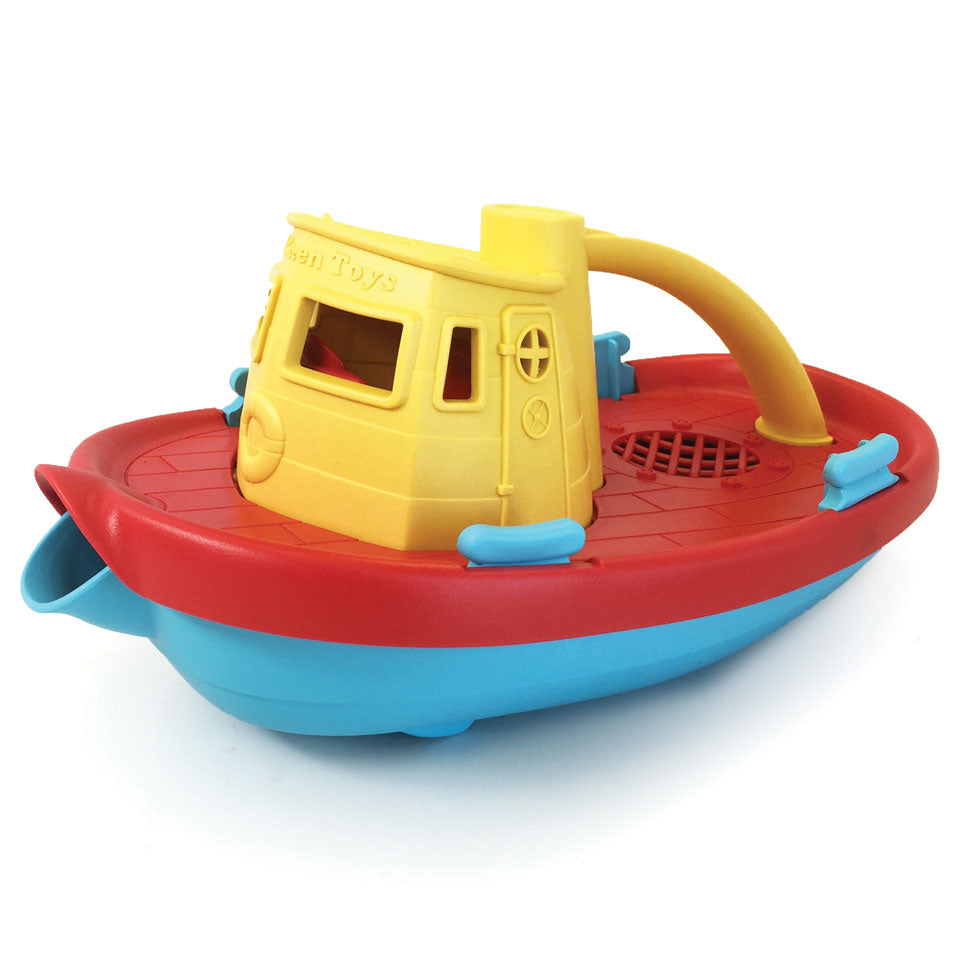 Green Toys - Tug Boat - yellow