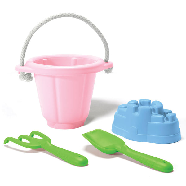 Green Toys - Sand Play Set  4 pce pink