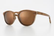Luke Shades - Polarise Sunglasses - Helix Pau Ferro Brown - Boatshed 7 The Original Beach Co.