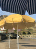 Business & Pleasure - Family Beach Umbrella - Gold Strip