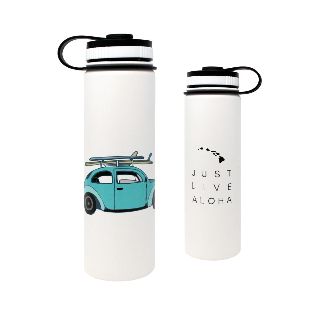 CocoNene - Water Bottle -  Just Live Aloha - 1.3 litre & 650ml - Boatshed 7 The Original Beach Co.