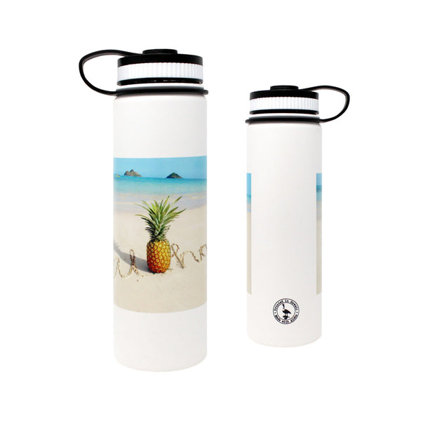 CocoNene - Water Bottle -  Pineapple Beach - 1.3 litre.   FROM HAWAII - Boatshed 7 The Original Beach Co.