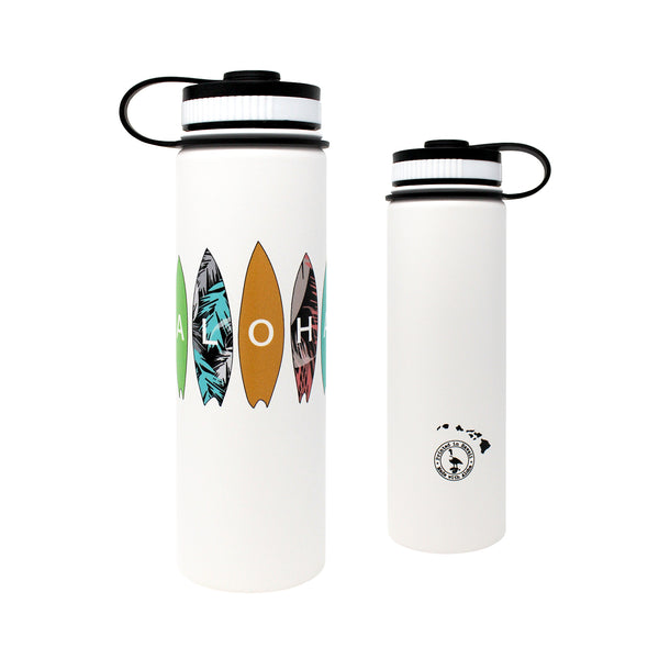CocoNene - Water Bottle -  Aloha Surfboards - 1.3 litre & 650ml - Boatshed 7 The Original Beach Co.
