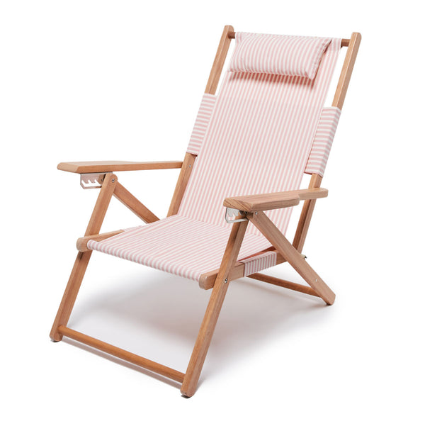 Business & Pleasure - Tommy Chair - Lauren's Pink Stripe