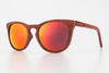 Luke Shades - Polarise Sunglasses - Solstice Redheart Red