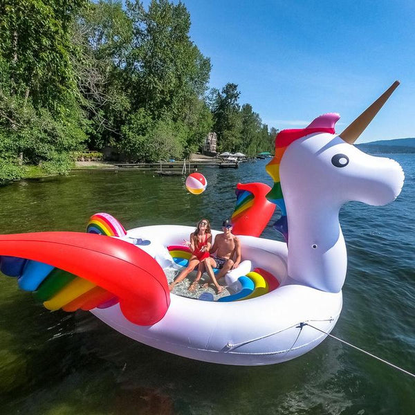 Giant Unicorn - 6 person inflatable