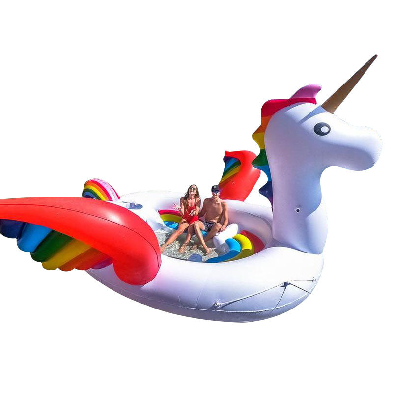 Giant Unicorn - 6 person inflatable - Boatshed 7 The Original Beach Co.