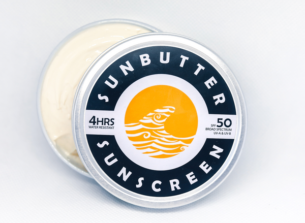 SunButter SPF50 Water Resistant Reef Safe Sunscreen 100g - Boatshed 7 The Original Beach Co.