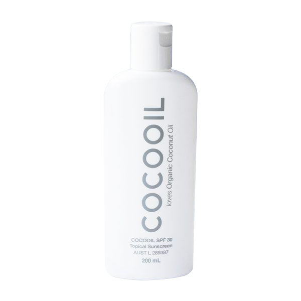 Sunscreen by Cocooil - SPF30 200ml - Boatshed 7 The Original Beach Co.