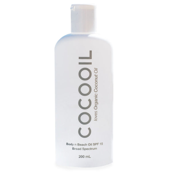 Sunscreen by Cocooil - SPF15 200ml - Boatshed 7 The Original Beach Co.