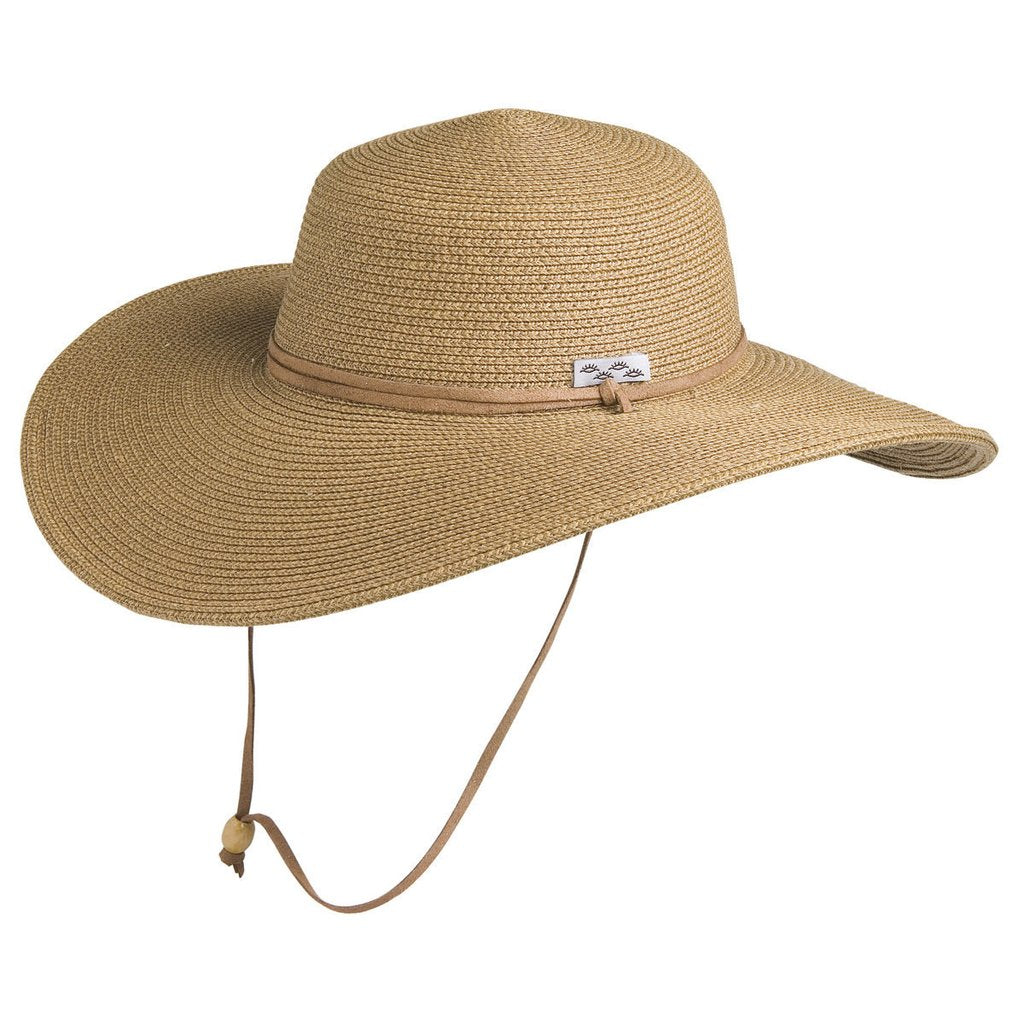 Conner Hats - McCloud Sun Protection - Ladies Beach Hat - Toast - Boatshed 7 The Original Beach Co.