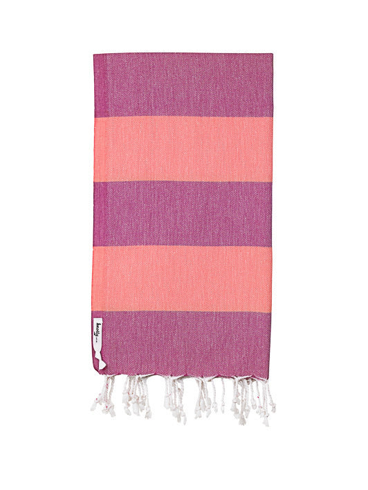 Knotty  Beach Towel -SuperBright-Sherbie
