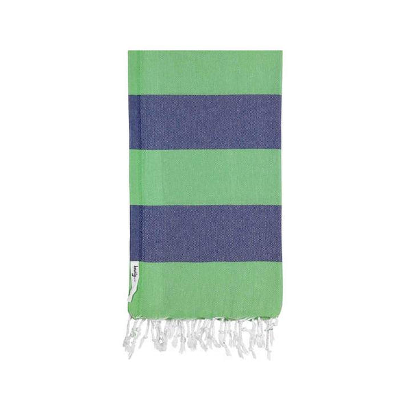 Knotty  Beach Towel -SuperBright-Hunter