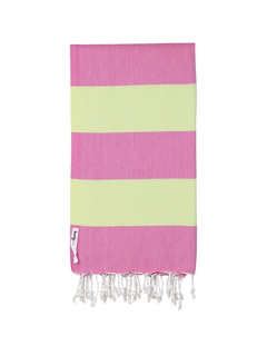 Knotty  Beach Towel -SuperBright-Fruit Tingle