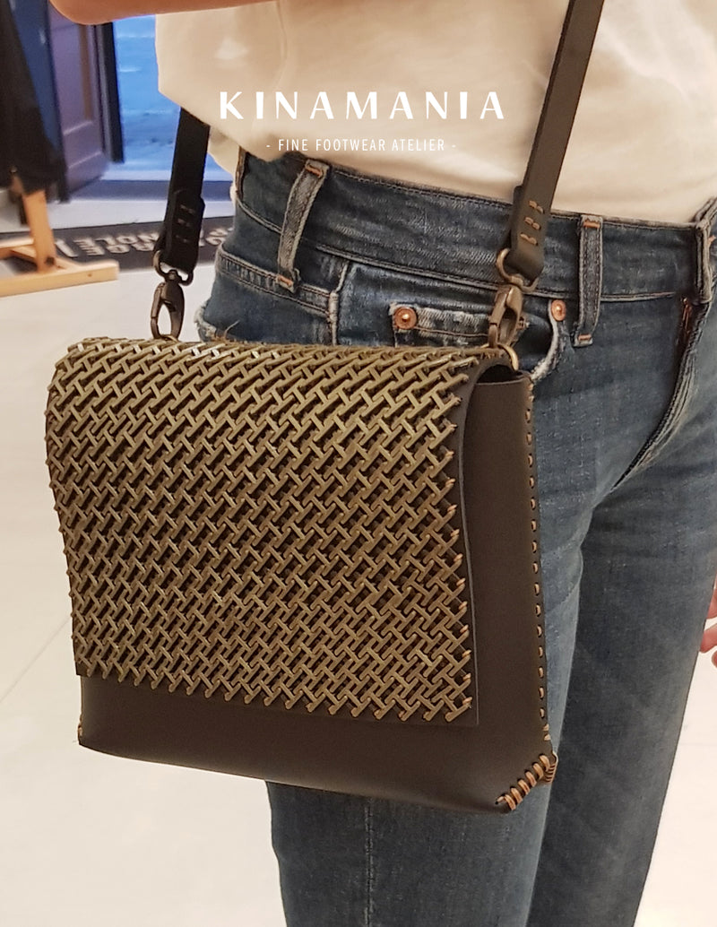 Carte-cadeau Atelier | The Chain Mail Sac Pochette Cuir