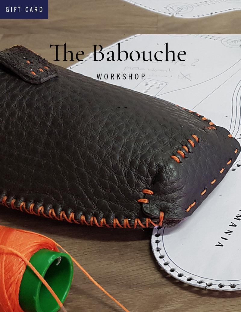 Carte-cadeau Atelier | The Babouche