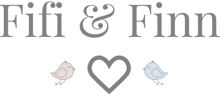 fifi & finn traditional baby boutique logo