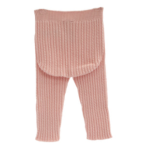 back of wedoble wool baby leggings, made in portugal