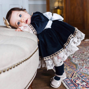 Spanish hand made girls dress