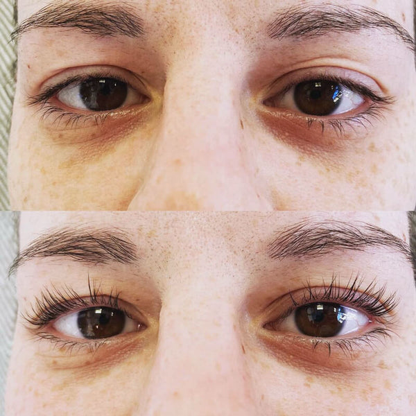 Diablo Lash Lift Results