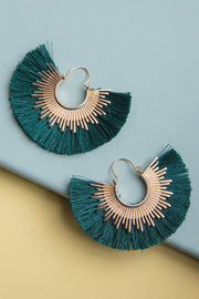 Hera Tassel Fan Earrings