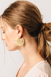Cleo Marbled Stone Earrings