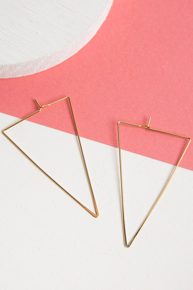 Iso 14k Gold Dipped Earrings