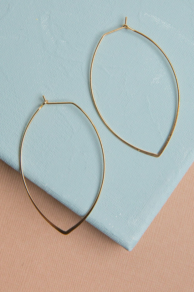 Willow 14k Gold Dipped Earrings