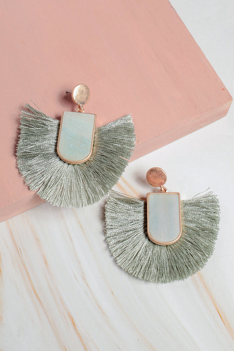 Zoe Fringe Earrings