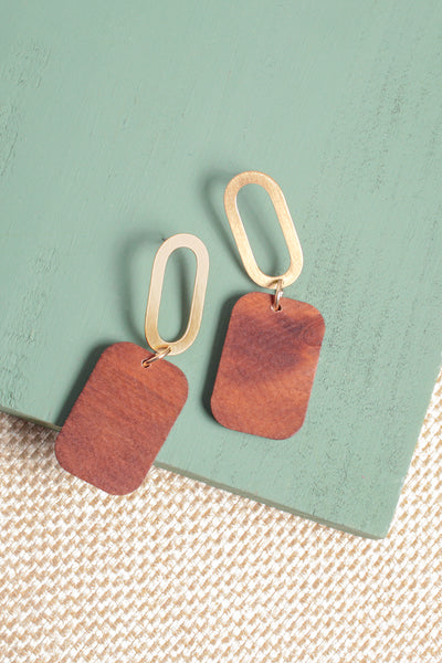 Sierra Geo Drop Earrings