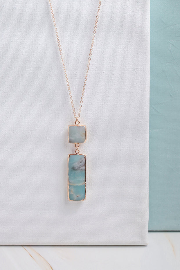 Ellie Stone Pendant Necklace
