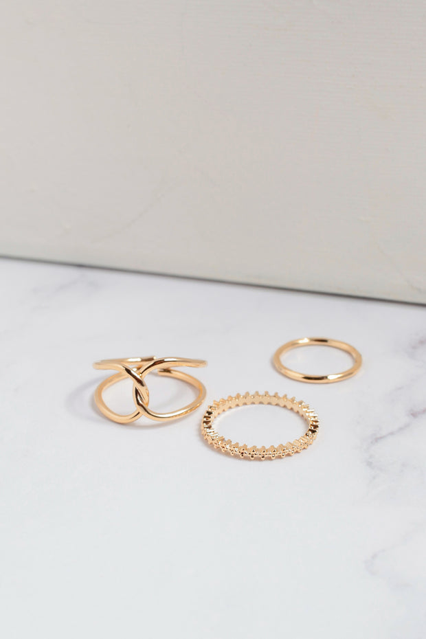 Twist and Tie 3 Ring Set
