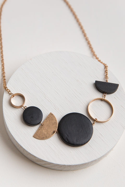 Gia Geo Necklace