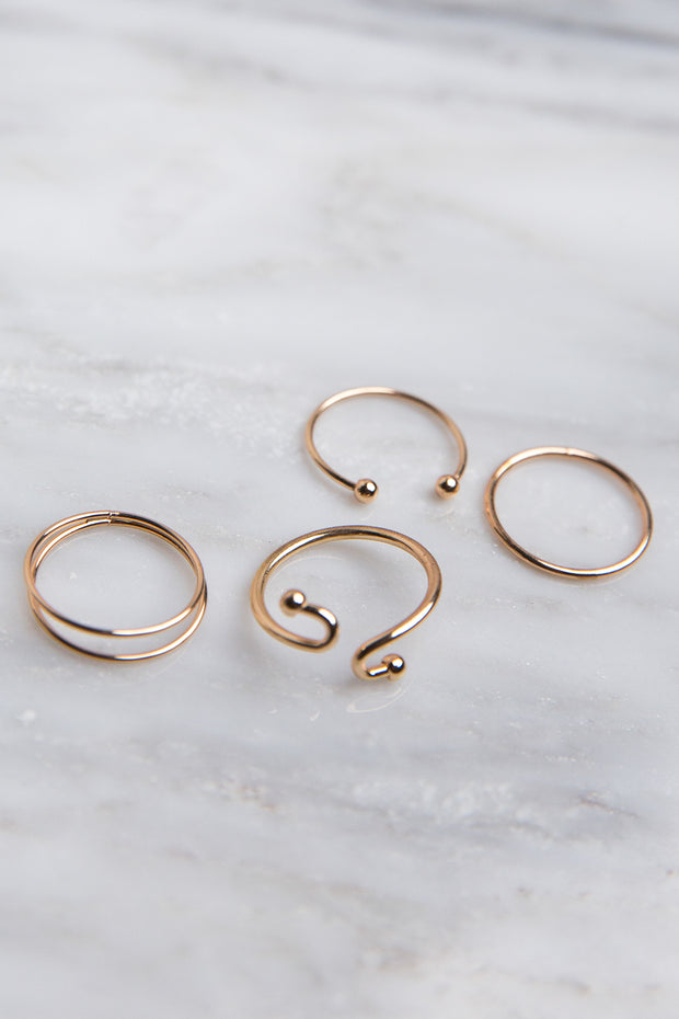 Simplistic Ring Set