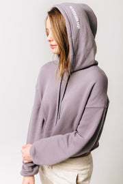 Woman Up Cropped Hoodie