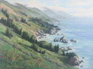 Along the Big Sur Coastline