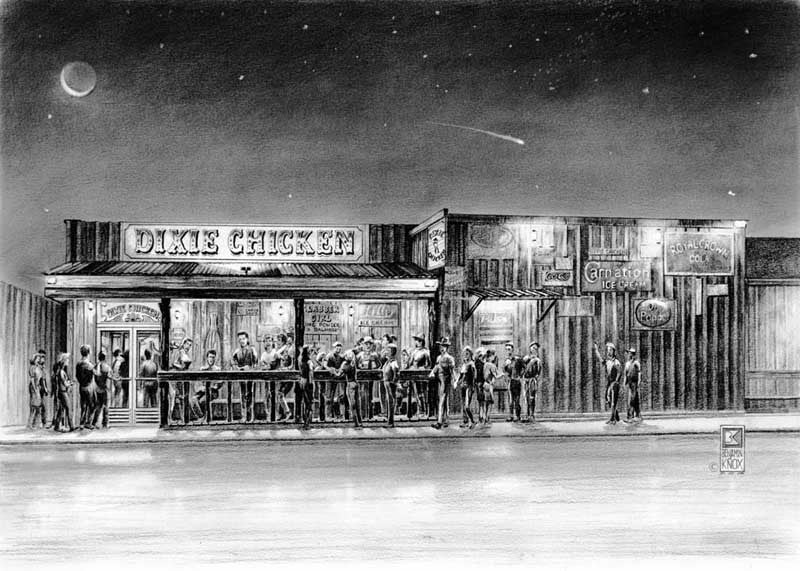Dixie Chicken - Print - Benjamin Knox Fine Art Gallery
